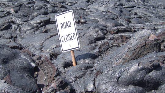 Hawaii National Volcanoes Park: The trek across Mordor