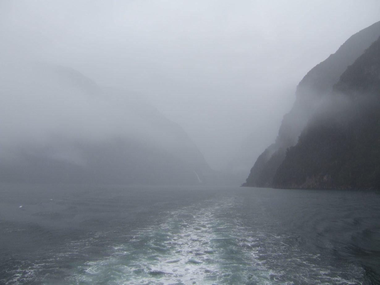 Milford Sound mists
