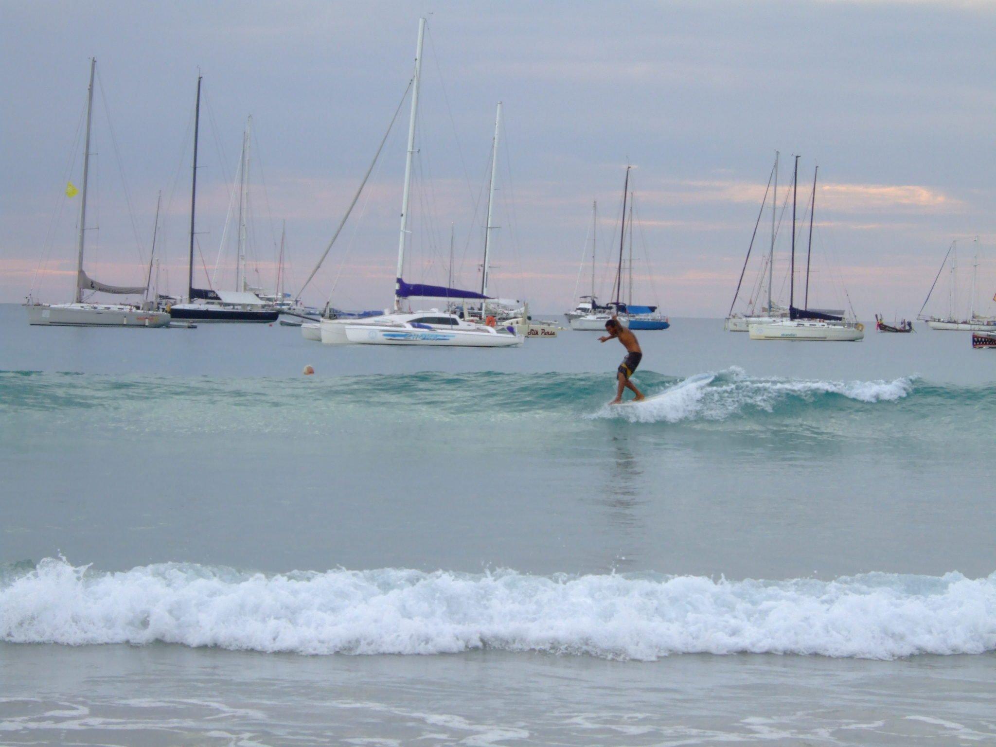 Phuket surfer