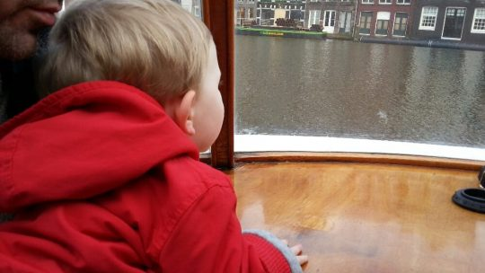 Amsterdam with a toddler: How do you like my flirting?