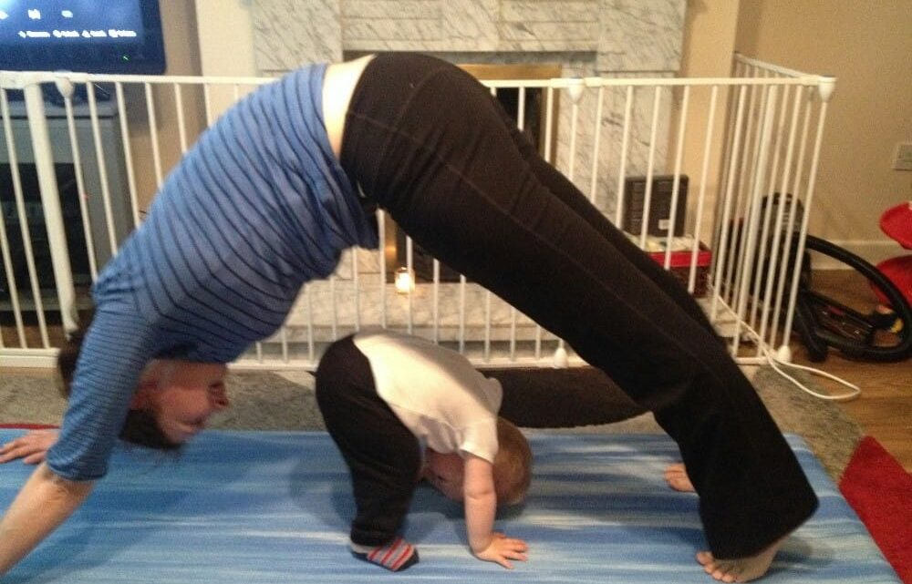 """""""Mama, no!  Arse!  Eye!"""" – Life with an 18 month old"""