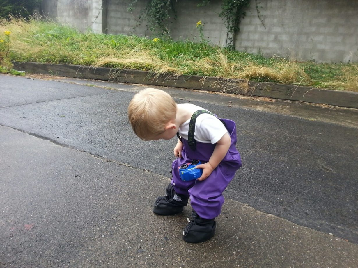 Watery Adventures – Life with a 20 month old