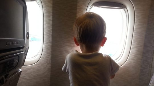 Long haul torture with a toddler