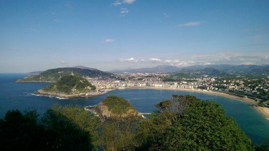 San Sebastian – thru a lens