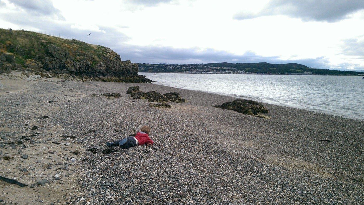 Ireland's Eye - beach