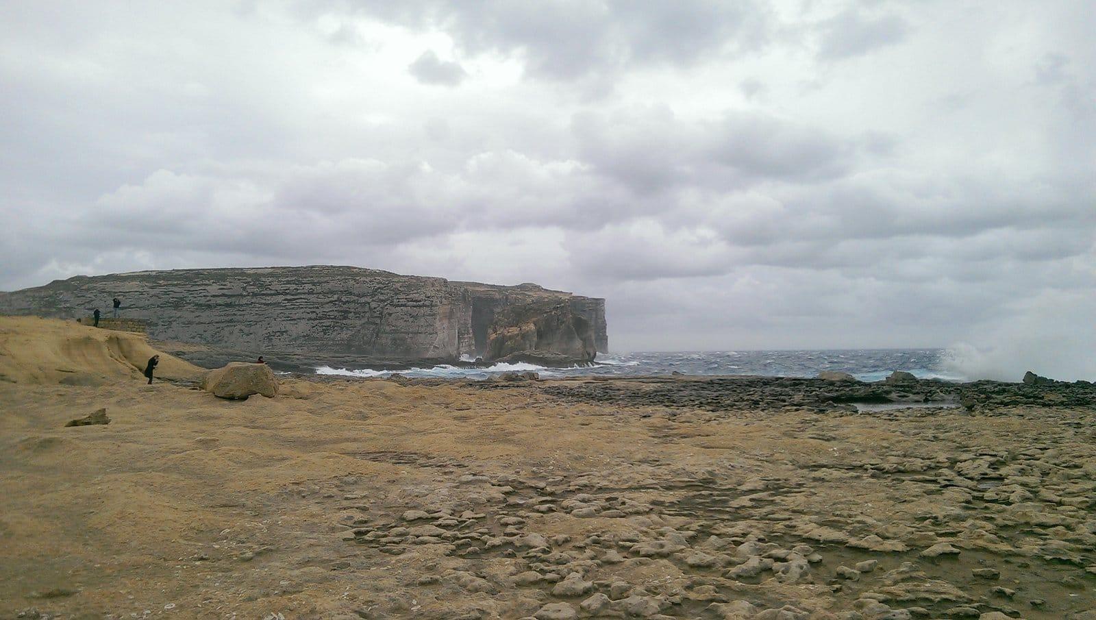 fungus rock in gozo
