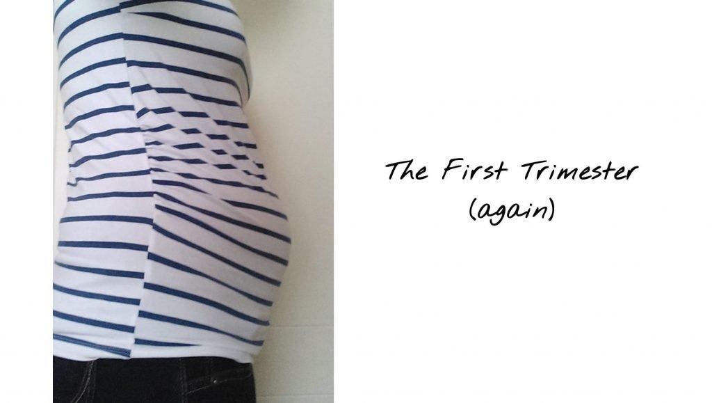first trimester bump