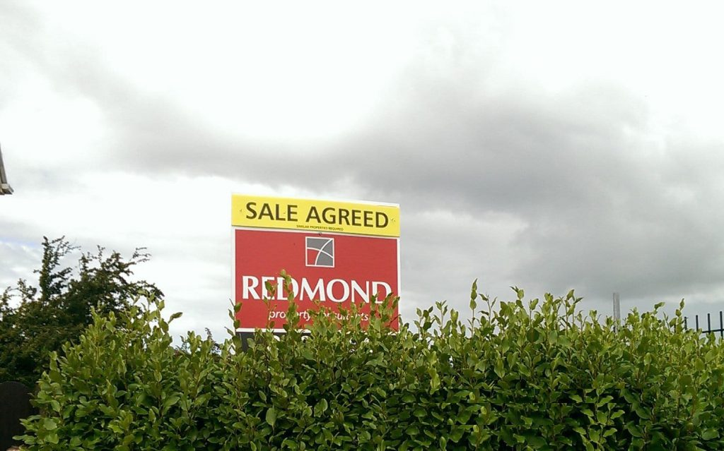 sale agreed