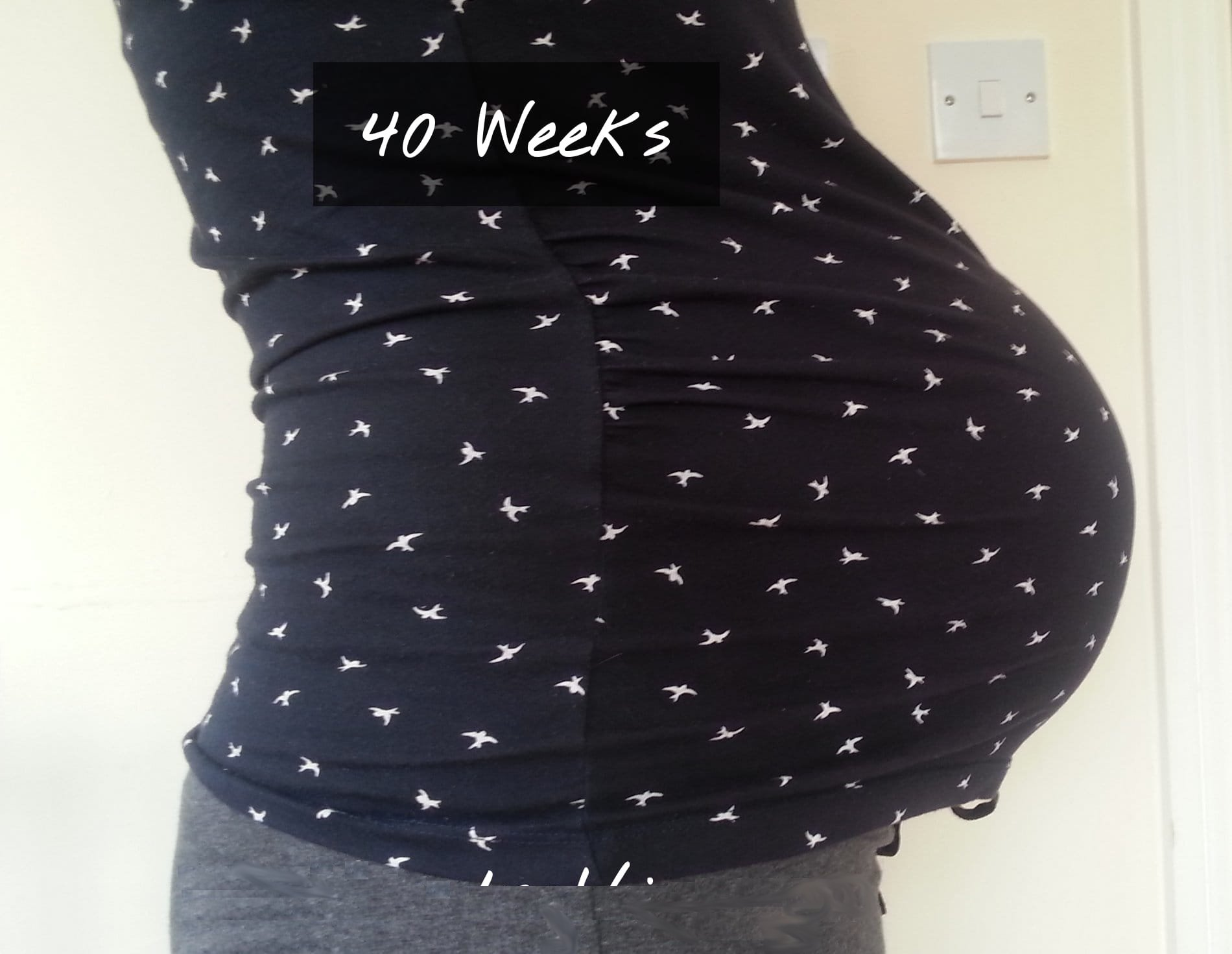 40 Weeks – The Waiting Game