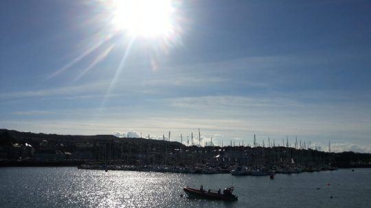 Baby's first excursion: An afternoon in Howth