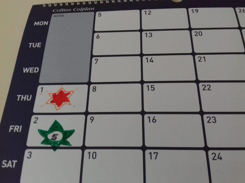 star-calendar