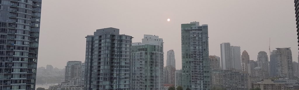 smoke-filled vancouver